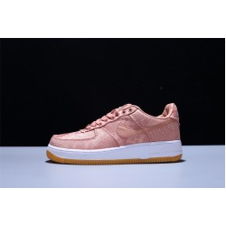 CLOT x Nike Air Force 1 PRM Rose Gold AF1 Low Damen Turnschuhe
