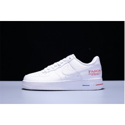 NBA x Nike Air Force 1 07 Low Herren Damen Turnschuhe Weiß