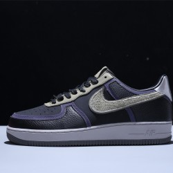 A Ma Maniére x Nike Air Force 1 07 AF1 Low Herren Damen Turnschuhe Schwarz