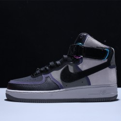 A Ma Maniére x Nike Air Force 1 High 'Hand Wash Cold' Unisex Turnschuhe Schwarz Grey Weiß 5T6665-001